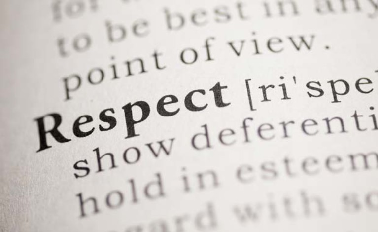"""what respect means to you R-e-s-p-e-c-t: this is what it means to me aug 25, 2012 