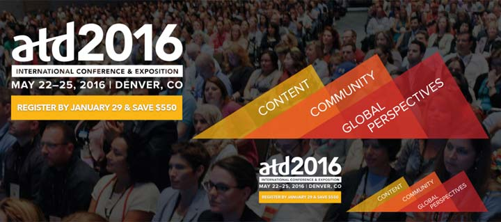 ATD 2016 International Conference & Exposition