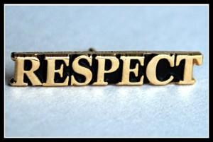 """Respect"" pin"