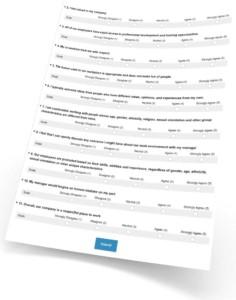 Respectful Workplace survey